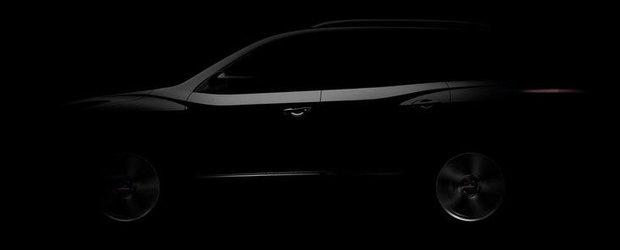 Noul Nissan Pathfinder apare in prima imagine oficiala