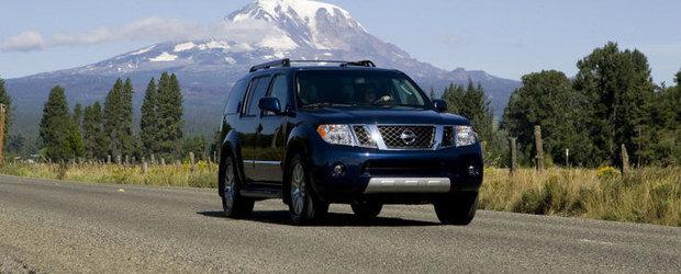 Noul Nissan Pathfinder debuteaza la Detroit
