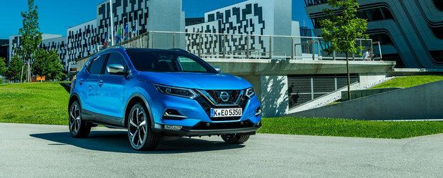 Noul Nissan Qashqai tot mai aproape de lansarea in Europa cu dotari premium si sisteme semi-autonome
