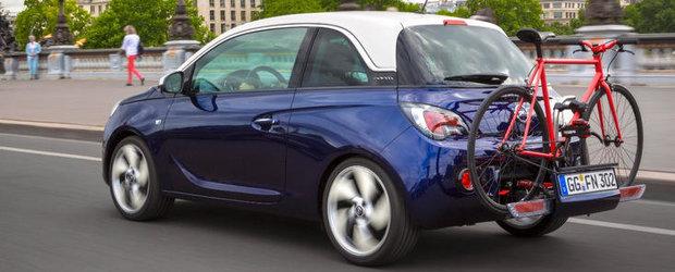Noul Opel ADAM - libertate urbana pe roti, varianta sic