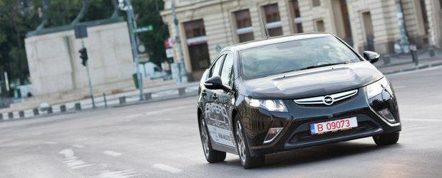 Noul Opel Ampera, disponibil de astazi si in Romania