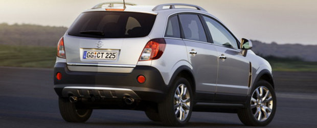 Noul Opel Antara imbina abilitatile de conducere off-road cu eleganta urbana
