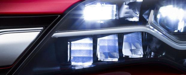 Noul Opel Astra anunta primele faruri Matrix LED din segmentul compact