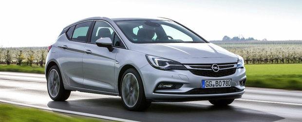 Noul Opel Astra devine mai puternic si mai sportiv