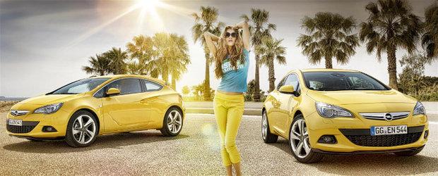 Noul Opel Astra GTC: aspect energic, conducere energica