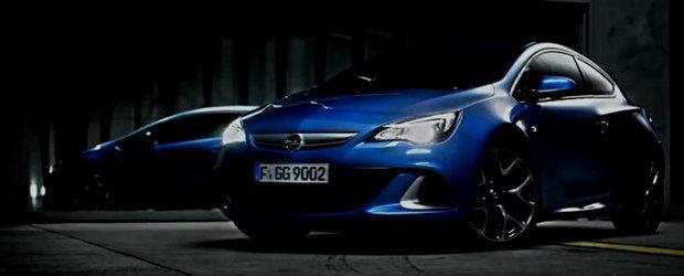 Noul Opel Astra OPC - Primul filmulet de prezentare