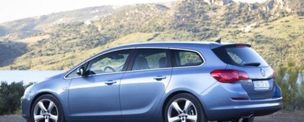Noul Opel Astra Sports Tourer oficial dezvaluit