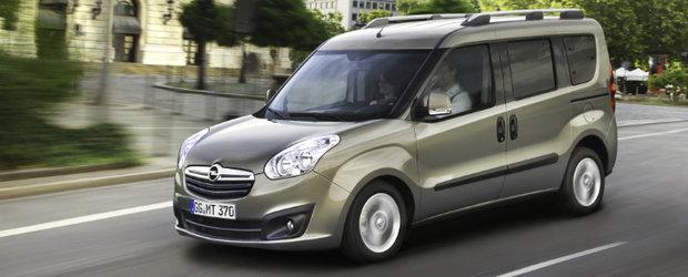 Noul Opel Combo: o gama larga de variante puternice