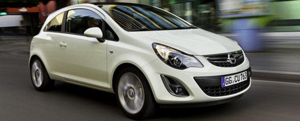 Noul Opel Corsa Facelift - Primele imagini!