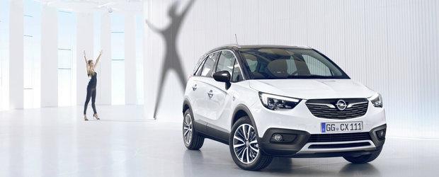 Noul Opel Crossland X este in sfarsit aici