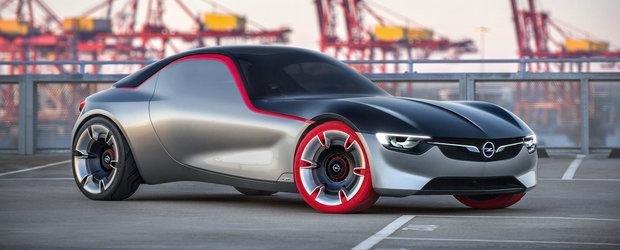 Noul Opel GT Concept prefigureaza masina sport a viitorului