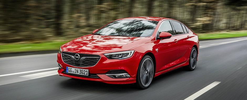 Noul Opel Insignia a prins bine la public: 50.000 de comenzi plasate in primele sase luni