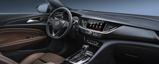 Noul Opel Insignia: Primele fotografii OFICIALE cu interiorul si exteriorul