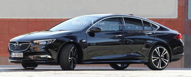 Noul Opel Insignia, surprins complet necamuflat. Cum arata rivalul lui Volkswagen Passat