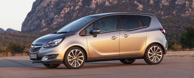 Noul Opel Meriva Facelift, dezvaluit oficial