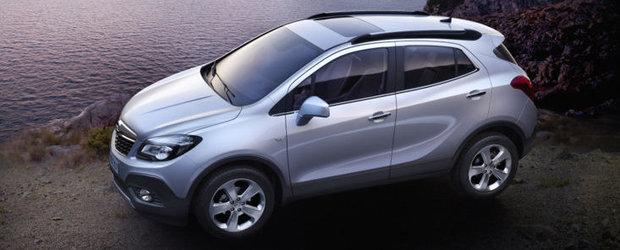 Noul Opel Mokka: dimensiuni compacte, atitudine impunatoare