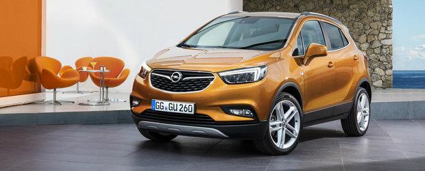 Noul Opel Mokka X soseste la Geneva cu un design atragator si tehnologie moderna