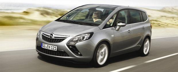 Noul Opel Zafira Tourer in detaliu
