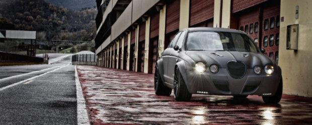 Noul Panzani Vintage GT este un infricosator Jaguar S Type R