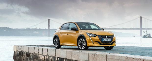 Noul Peugeot 208, cel mai tare din parcare. Modelul francez este MASINA ANULUI 2020 in Europa
