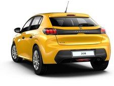 Noul Peugeot 208 - Versiunea de baza