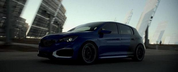 Noul Peugeot 308 R HYbrid ne spune ce inseamna cu adevarat puterea