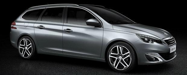 Noul Peugeot 308 SW se va lansa in cursul acestui an
