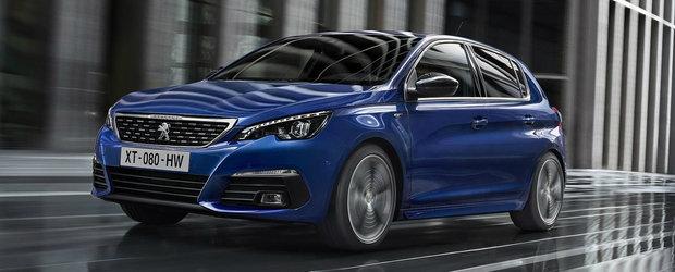 Noul Peugeot 308 va parca singur. Ce modificari mai aduce facelift-ul