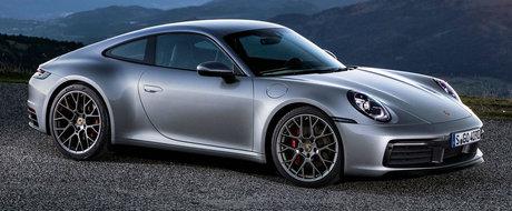 Noul Porsche 911 debuteaza oficial, seamana extrem de bine cu vechiul model. GALERIE FOTO
