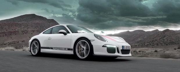 Noul Porsche 911 R e atat de rapid incat... nici macar un satelit nu poate tine pasul cu el