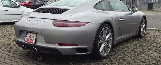 Noul Porsche 991 Facelift ne dezvaluie toate secretele sale estetice