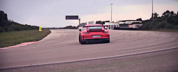 Noul Porsche 991 GT3 RS arata si suna absolut exceptional
