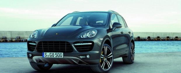 Noul Porsche Cayenne - Primele fotografii oficiale!