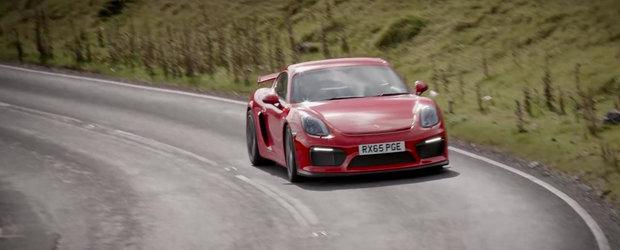 Noul Porsche Cayman GT4 continua sa impresioneze cu caracteristicile sale
