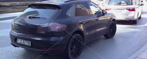Noul Porsche Macan, surprins in teste in Dubai