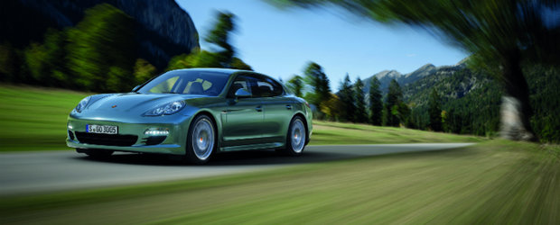 Noul Porsche Panamera Diesel consuma doar 6.3 litri la 100 km!