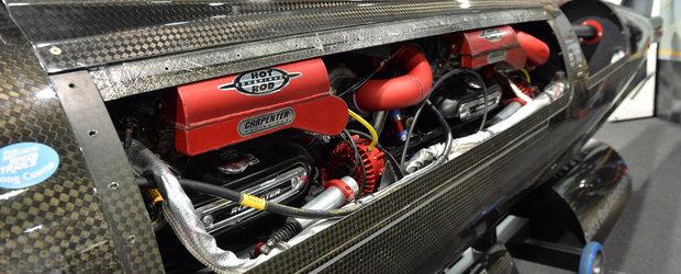 Noul prezentator Top Gear vrea un nou record de viteza cu un motor de 1000 cp