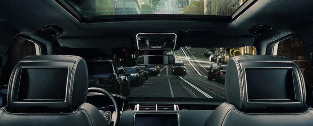 Noul Range Rover 2015 promite un plus de eleganta si confort