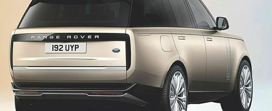 Noul Range Rover a ajuns mai devreme pe internet. Pozele pe care britanicii nu vor ca tu sa le vezi pana saptamana viitoare