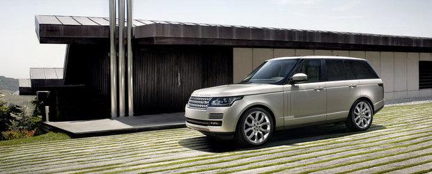 Noul Range Rover, dezvaluit oficial