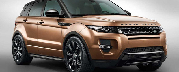 Noul Range Rover Evoque are o cutie automata cu 9 trepte si consum redus de carburant