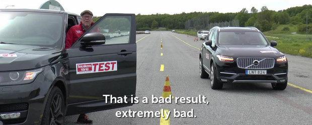 Noul Range Rover Sport are grave probleme de franare, sustin suedezii