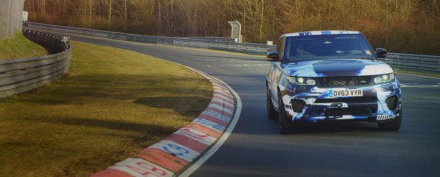 Noul Range Rover Sport SVR isi anunta aparitia la Goodwood 2014