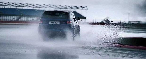 Noul Range Rover Sport SVR isi face aparitia in primul sau promo oficial