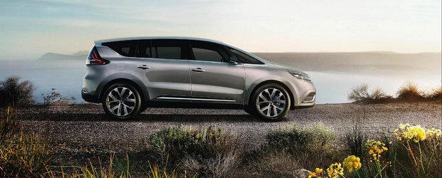 Noul Renault Espace se anunta cel mai ciudat crossover al industriei auto