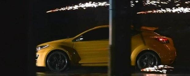 Noul Renault Megane RS 265, model 2014, in primul video oficial