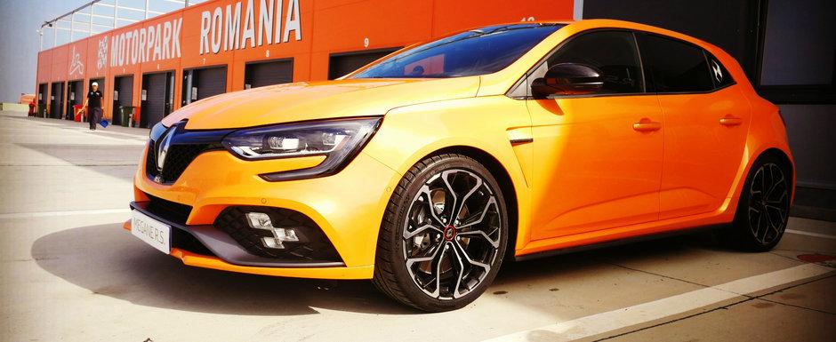 Noul Renault Megane RS a fost lansat in Romania. Tehnologie din F1 si raliuri incepand de la 30.000 de euro