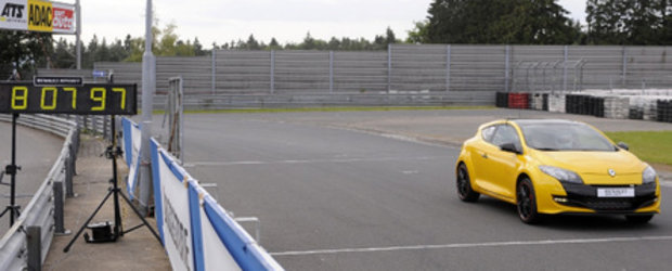 Noul Renault Megane RS Trophy debarca la Nurburgring!