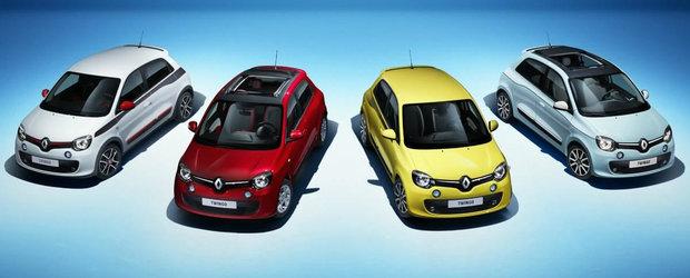 Noul Renault Twingo 2014 va avea motorul in spate