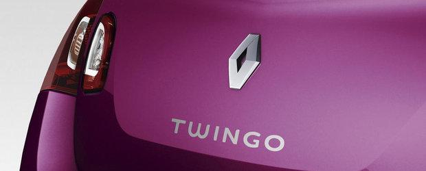 Noul Renault Twingo va fi produs numai intr-o versiune cu 5 usi